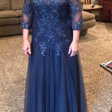 Платье для матери невесты из тюля с глубоким вырезом, с бисером и блестками, ТРАПЕЦИЕВИДНОЕ ПЛАТЬЕ для мамы, vestidos de noivas