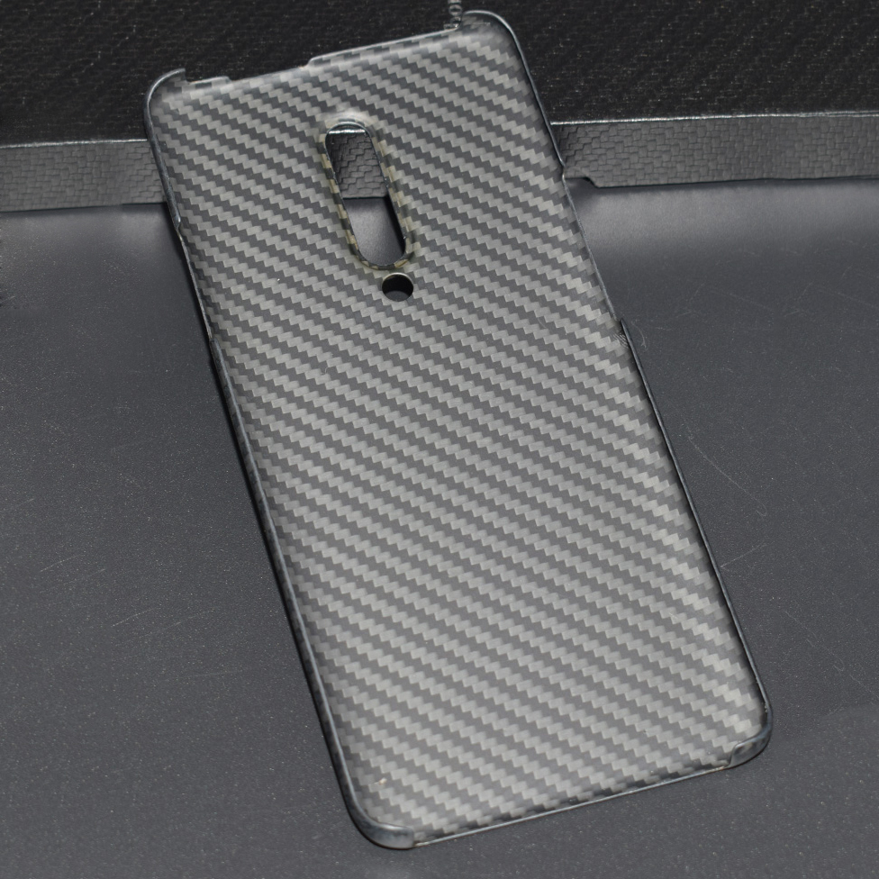 Image 2 - ENMOV Real Carbon Fiber Case for OnePlus 7 Pro Kevlar Matte  Protection for One Plus 7 Pro Case Cover Super Light ThinFitted Cases