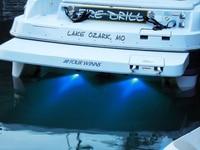 led white High Power 6W Stainless Steel LED Underwater Light Water Drain Light for 12V Marine Boat Yacht Use White/Blue/Green (5)