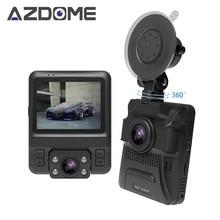 GS65H оригинальные мини Двойной объектив Видеорегистраторы для автомобилей Новатэк 96655 автомобильный Камера 1920×1080 P Full HD регистраторы петли Запись Ночное видение azdome