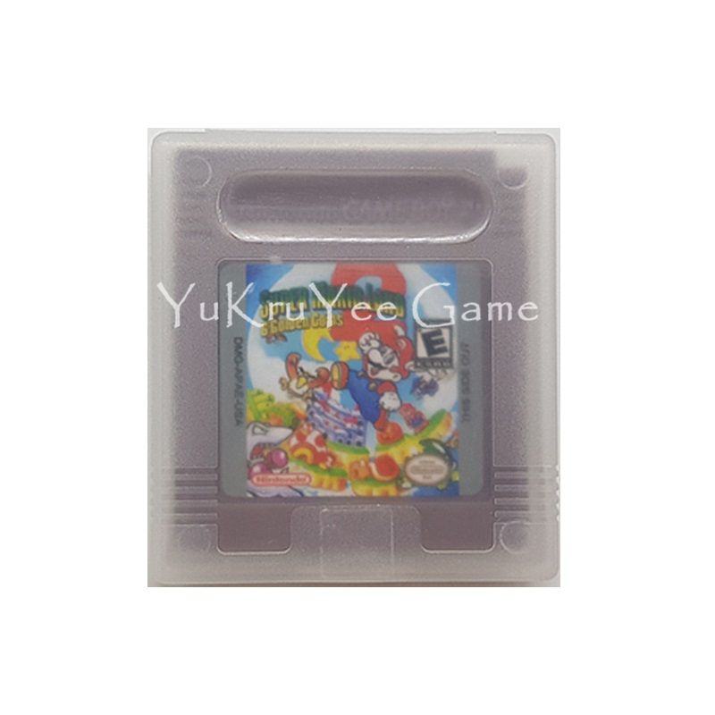 Supermario Land 2 6 Golden Coins Video Cartridge Card English Language For 16 Bit Handheld Console Original Logo Shell V In Replacement Parts