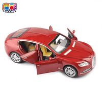 Hot Sale Collectible Alloy Diecast Toy Cars Model 1 32 Bugatti Veyron 16C Galibier W Light