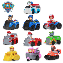 Paw Patrol Party Puppy Car Patrulla Canina Action Figures Psi figures Marshall Chase Kids Children Toys Birthday Gifts