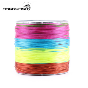 Image 5 - Angryfish 500M 9 Strands Super Multicolor PE Braided Fishing Line Strong Strength Fish Line
