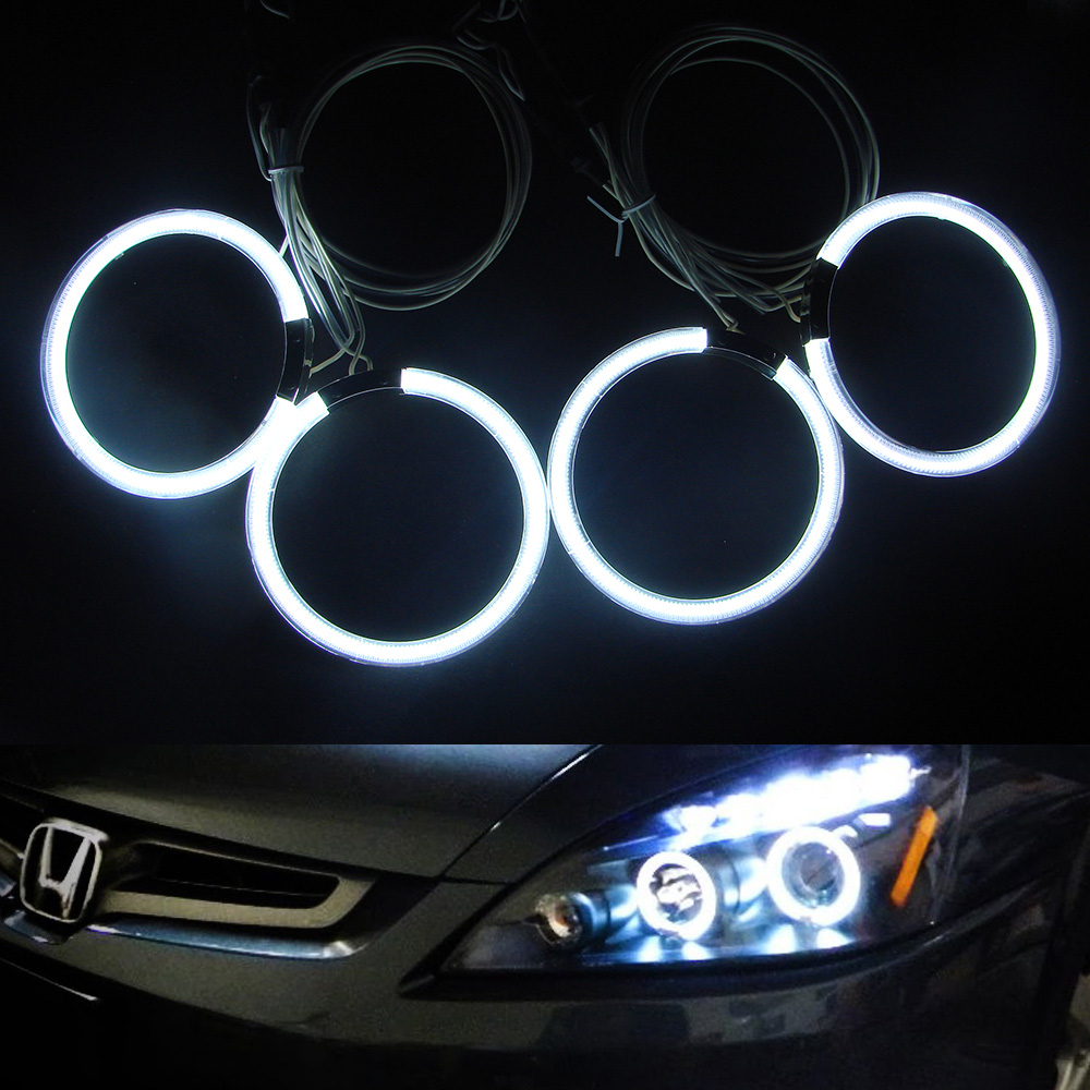 4x105mm CCFL Angel Eyes 12V car auto Halo ring light for Honda CR-V 2003 car auto headlight for honda odyssey 4th g rb3 rb4 chassis 2008 present excellent ultrabright headlight illumination ccfl angel eyes kit halo ring