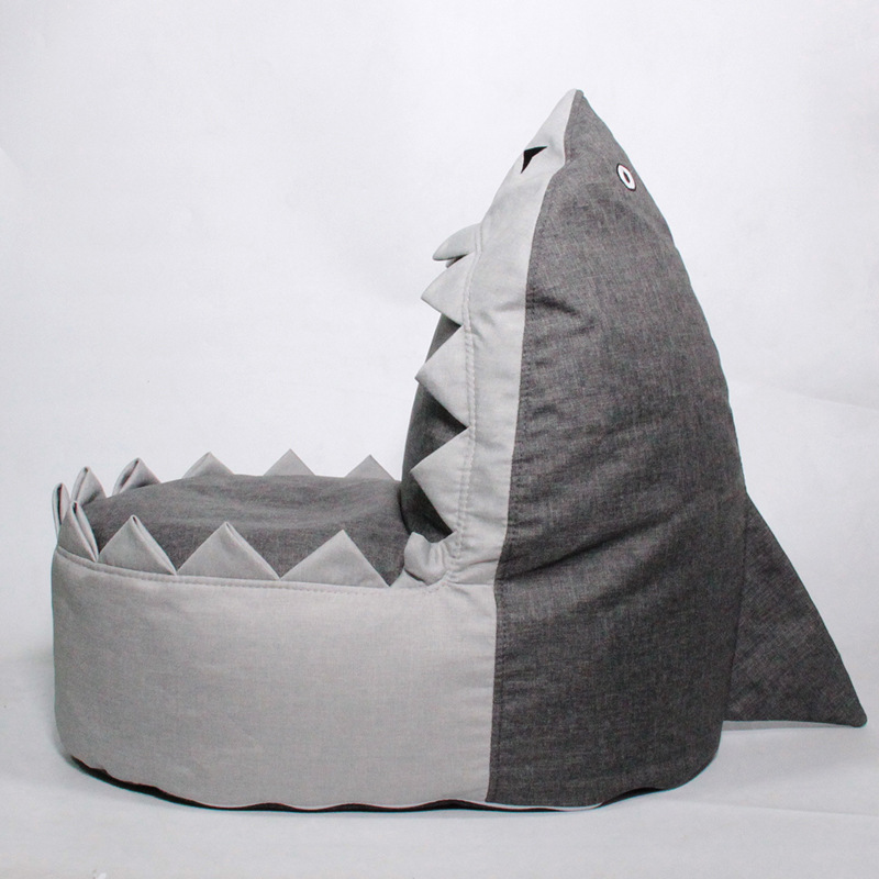Chpermore Children shark Bean Bag lazy sofa Comfortable Living room leisure Bean bag sofa Students/Kids tatami chairChpermore Children shark Bean Bag lazy sofa Comfortable Living room leisure Bean bag sofa Students/Kids tatami chair