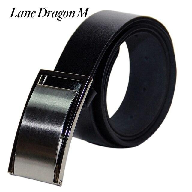 [Lane Dragon M] New Arrive Genuine Leather Smooth Buckle Belts For Men Mens Belts Luxury Designer Belts Men High Quality D0016