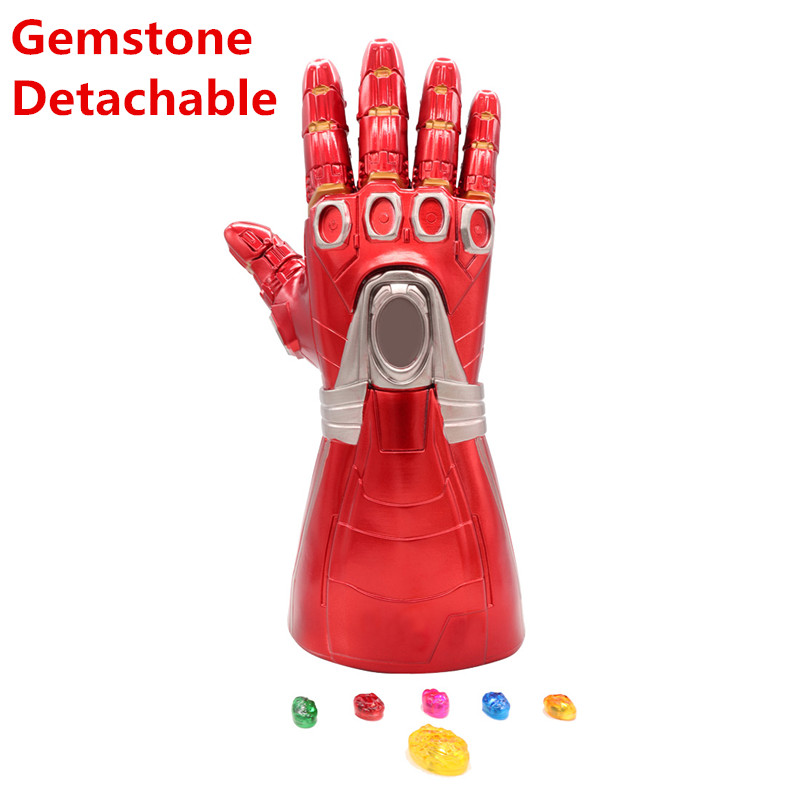 Thanos Infinity Gauntlet LED Glove Cosplay Avengers Removable Infinity Stone Toy