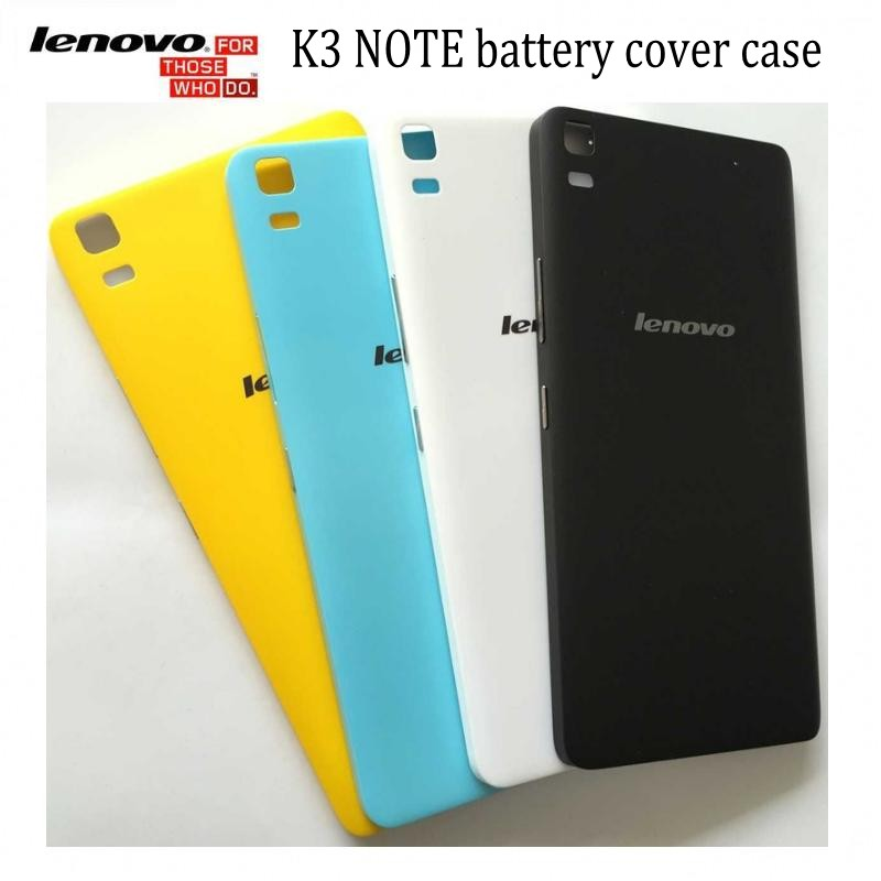 low priced 99266 b1b89 US $4.97 |Original 5.5 inch lenovo k3 note battery cover case with Push  button K50 T5 back case yellow / white /black stock on Aliexpress.com | ...