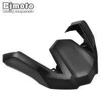 BJMOTO Motorcycle Black Front Fender Beak Extension Fender Extender Wheel Cover Cowl For BMW R1200GS ADV