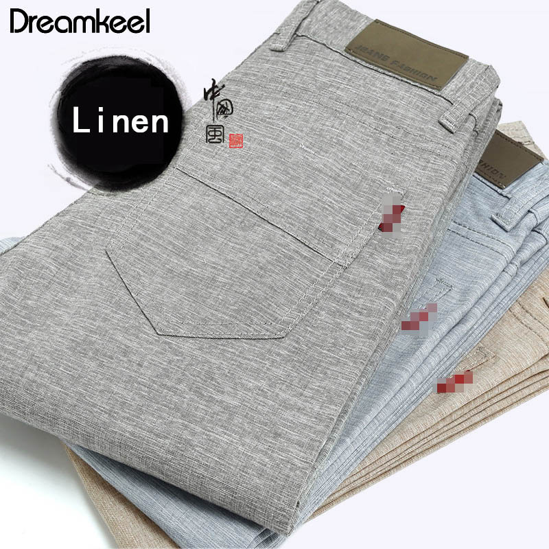 Pants Men Traditional Trousers Linen Fitness Harajuku Casual Harem Chinese Summer Male
