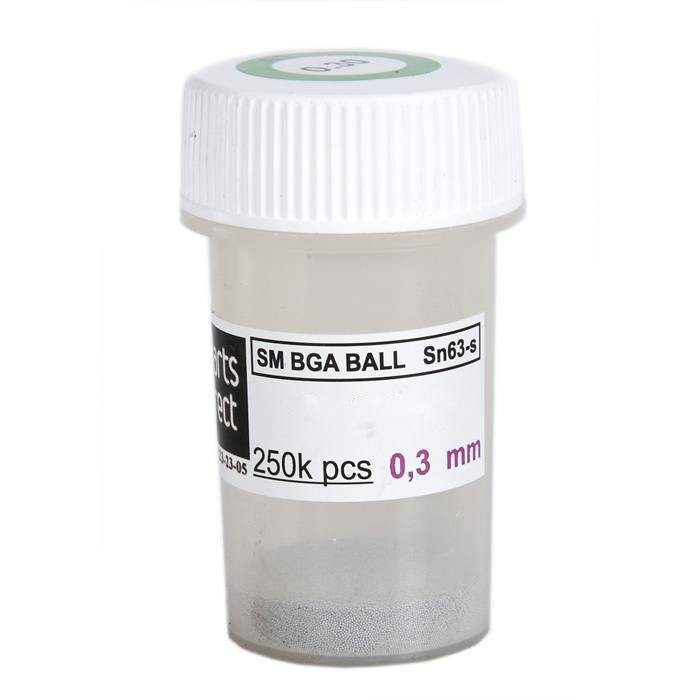Solder balls for BGA 0.3mm 250k, Lead free