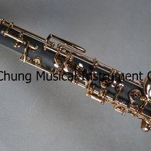 Симпатичный композитный деревянный концертный позолоченный C Ключ Полностью автоматический oboe