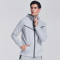 Winter Running Jacket Men Breathable Quick-drying Running Jersey Wind Coat Protect Hooded Running Jacket For Men