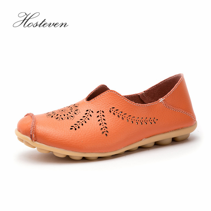 Hosteven Women Shoes Sneakers Loafers Genuine Leather Flats Platform Fashion Casual Ladies Driving Moccasins Air Mesh ShoesHosteven Women Shoes Sneakers Loafers Genuine Leather Flats Platform Fashion Casual Ladies Driving Moccasins Air Mesh Shoes