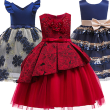 Kids Dresses for Baby Girls Stripe Tutu Dress Princess Party Dress Girls Clothes for 2-10 Year Clothing vestido Girls Dress toddler kids baby girls summer outfits 1 2 year birthday gift infant party wear dresses for girls clothes baby tutu dots dress