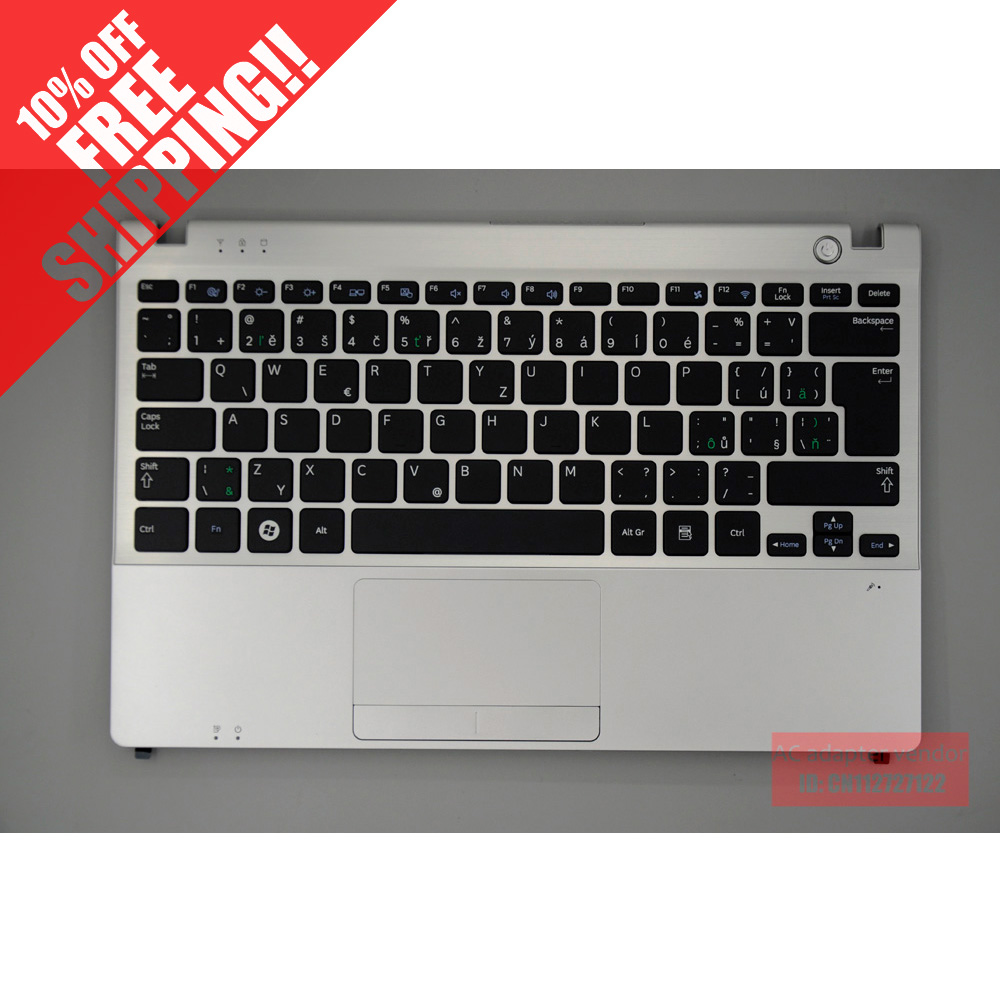 FOR Samsung NP350U2A NP350U2B laptop keyboard with c shell for samsung q530 keyboard c shell top page 2
