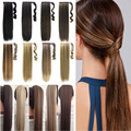 "26"" Mega Long Ponytail Clip In Pony Tail Hair Extensions Wrap on Hairpieces Straight Hairstyles 100% Top Quality Free Shipping C"
