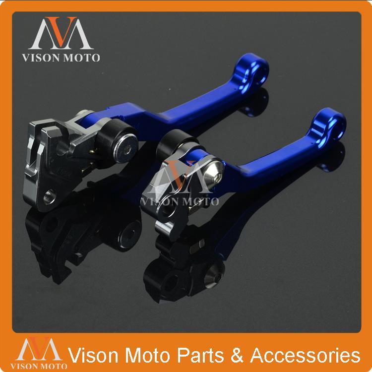 CNC Pivot Brake Clutch Levers For Yamaha YZ80 YZ85 2015 YZ Motocross Enduro Motard