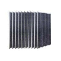 Solar Panel 1000w 12V 10 Pcs Placa Solar 12v Policristalino 100W Solar Battery China Caravan Motorhome Solar Home System