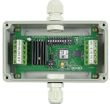 General Weighing A D Modules digital load cells weight measuring conversion RS485 Modbus RTU to PLC