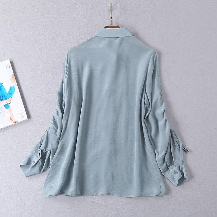 2019 Style S01205 Européenne A Piste Design Marque Luxe b Femmes Blouses amp; Chemises Partie De Mode Vêtements wArAqOxX
