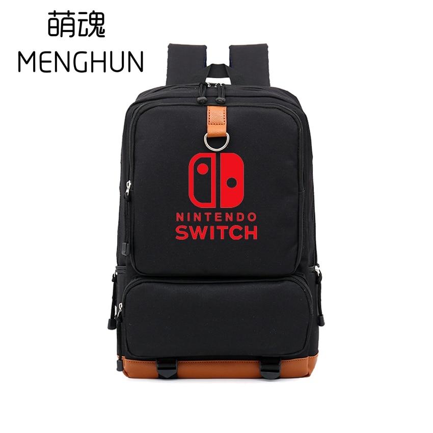 Cool game concept backpack SWITCH backpacks game fans nylon high capacity big backpack NS backpacks game bag nb206