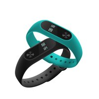 In Stock 2017 Original Black Color Xiaomi Mi Band 2 Heart Rate Monitor Smart Wristband With