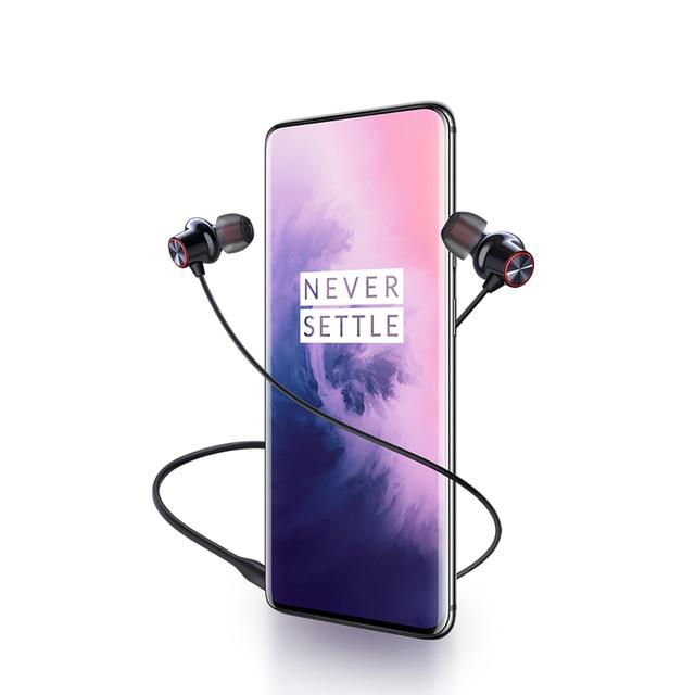 Original OnePlus Bullets Wireless 2 Accessories Headphones One Plus color: BLACK