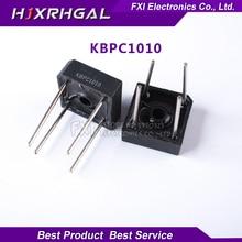5 шт. KBPC1010 10A 1000 В диодный мост выпрямителя новый оригинальный Бесплатная доставка