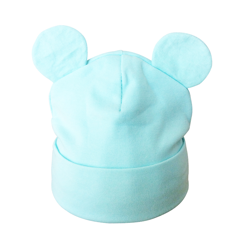 Partisig Brand Baby Hat Bomuld Ør Hat For Girls Fashion Cartoon Boys - Babytøj - Foto 6