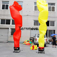 flams Wind Dancer Tube Man Cartoon Inflatable Dancer Air Puppet Out Door Air Dancer Sky Dancing Man For Advertising