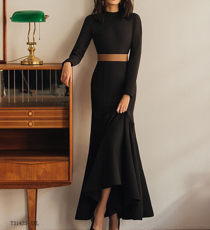 e5aea601f86 Nouveautés Couleur Slim Femmes Tempérament Européen Robe D été Color  Vintage Printemps Mode Vêtements Solide Style ...