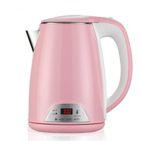 Bubble Milk Insulation Display Temperature Thermostat 304 Stainless Steel Electric Kettle