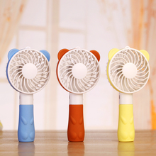 2016 Summer office and outdoor portable mini cartoon fan compact and lovely delicate and durable