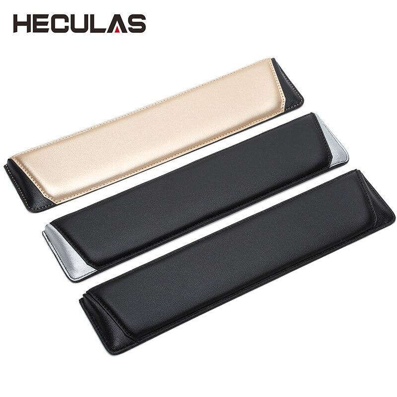 Heculas Leather Hands Wrist Rest Bevel Design Mouse Pad For 87/104/108 Mechanical Keyboard