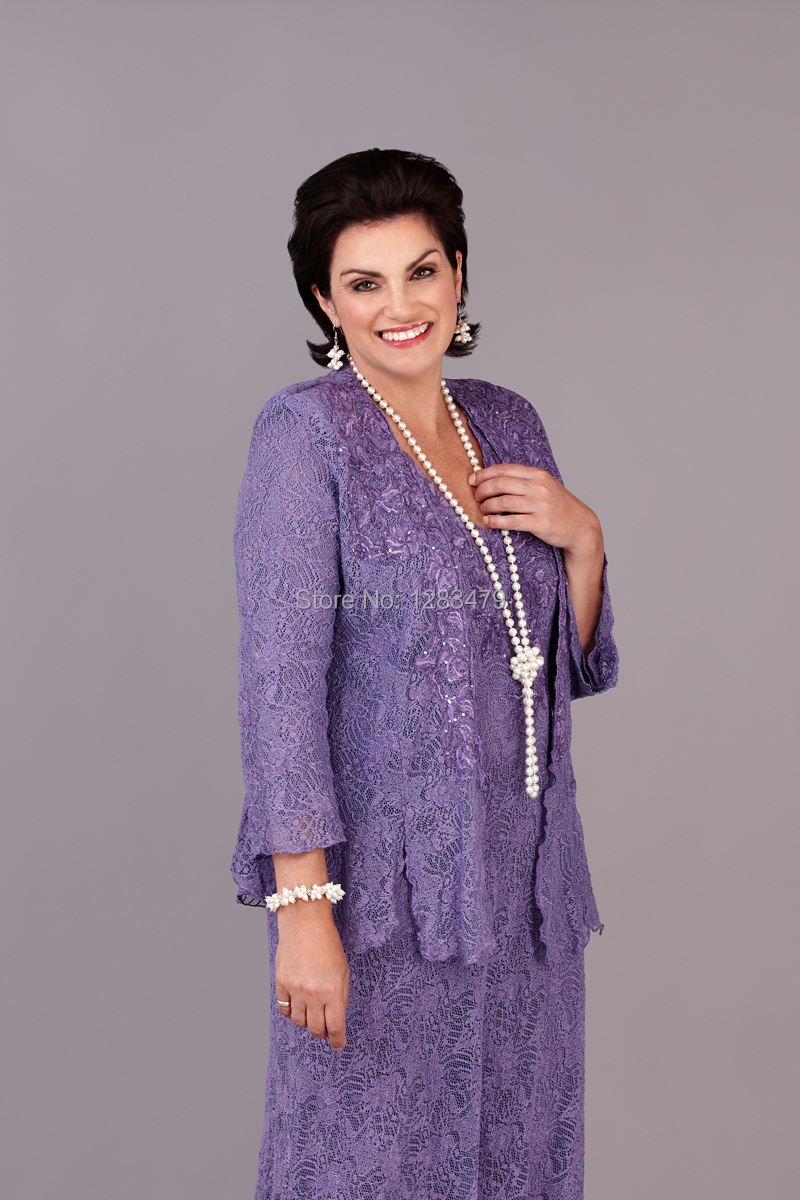 Mother Of The Bride Dresses Plus Size Purple