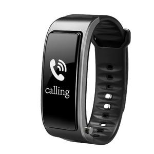 Image 5 - ניטור קצב לב מד צעדים smart watch Y3 חכם צמיד Bluetooth אוזניות 2 ב 1 טלפון שיחות להזכיר smart watch גברים