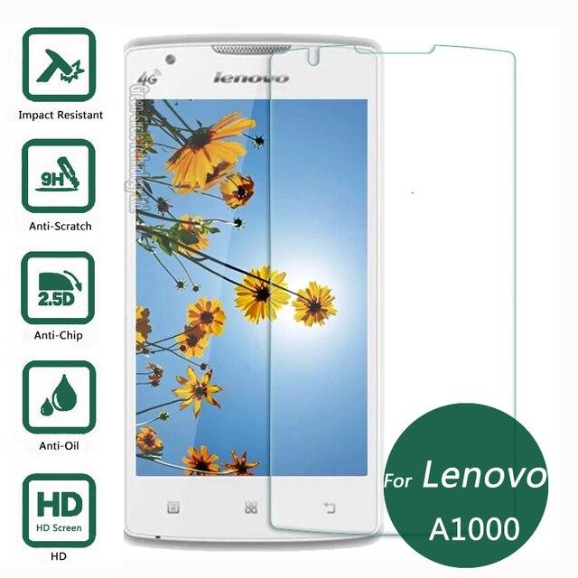 Pour Lenovo A1000 A2800 Trempe Verre Protecteur Decran 25 9 H Securite De Protection