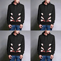 New Autumn American Streetwear Men Slim Suit Man Hoody Sweatshirts Print Hiphop Pullover Hoodies Suit thrasher