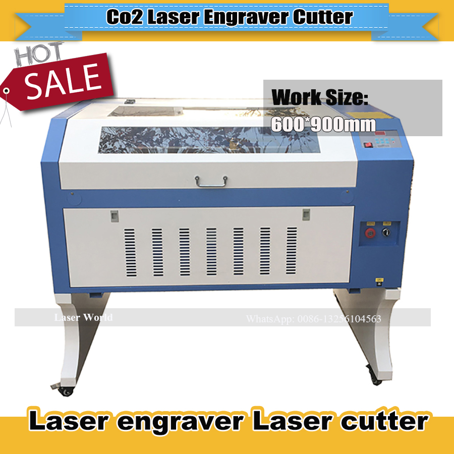Factory Price 100W CO2 Laser Engraver Cutting Machine Rubber Machine Price TS6090 9060 With Coreldraw Software For Rubber Stamp