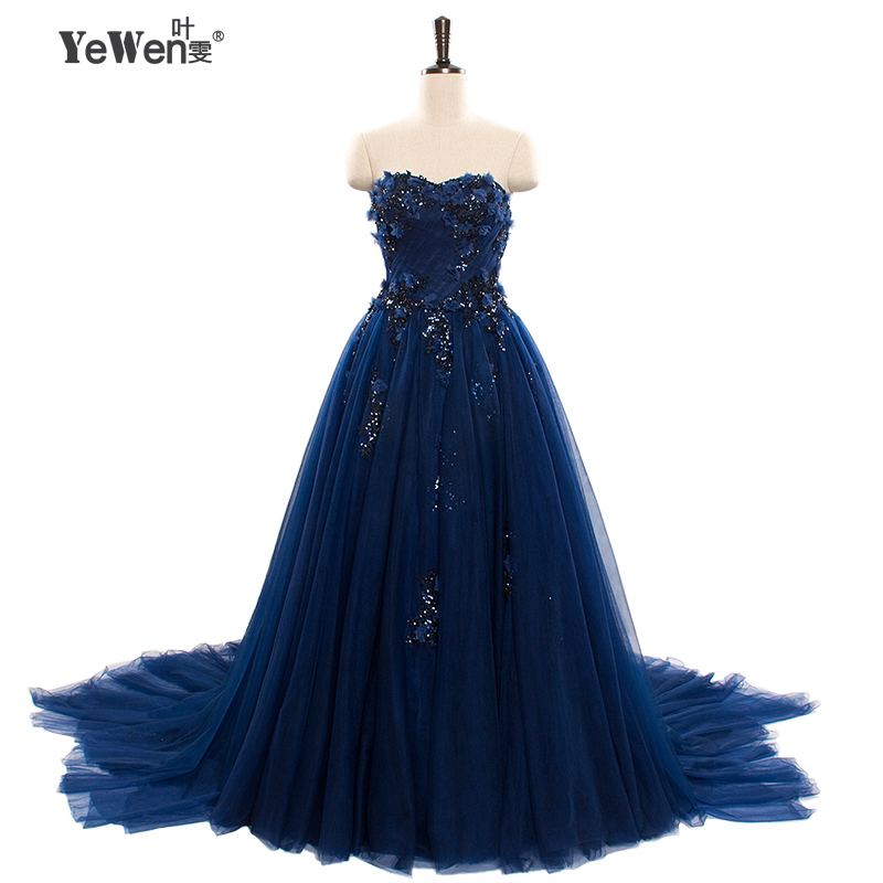 Natural Simple Elegant 2018 Blue Bridesmaid Dresses With: Aliexpress.com : Buy 2018 A Line Elegant Sweetheart