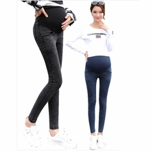 Pregnant women clothing jeans pregnant women pregnant stretch large size pregnant women pants elastic waist grossesse size M-3XL недорого