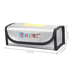 Image 2 - HTRC Protector de batería Lipo, a prueba de explosiones, resistente al fuego