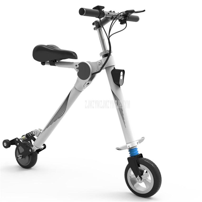 250W A due ruote Pieghevole Per Adulti Scooter Piccolo Mini Bicicletta Elettrica Invece Di Camminare Batteria Al Litio Della Bicicletta Per Gli Uomini e Le Donne