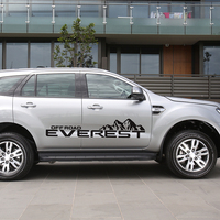 for ford everest 2015 customize car decals 2pc side body mountain off road styling protect scratch graphic vinyl car stickers
