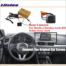 Liislee For Mazda 3 Mazda3 Axela BM Sedan 2013~2016 / Car Rear View Reverse Camera Sets / RCA & Original Screen Compatible таро уэйта универсальное руководство карты