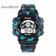 CocoShine A-923 Outdoor Multifunction Waterproof kid Child/Boy's Sports Electronic Watches Watch wholesale