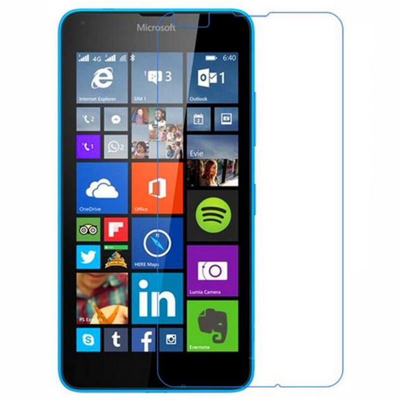 Tempered glass Film For <font><b>Nokia</b></font> Lumia 430 532 520 525 535 630 635 640 730 830 930 435 950 XL X X2 <font><b>1320</b></font> Phone Protective Film image