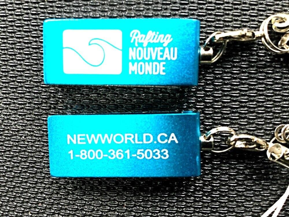 400 pièces clés avec les deux côtés logo